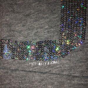 PINK Victoria's Secret Tops - VS LOVE PINK long sleeve sequin shirt